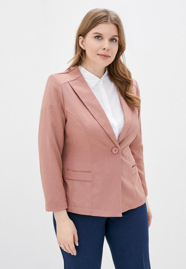 женский жакет viserdi, розовый
