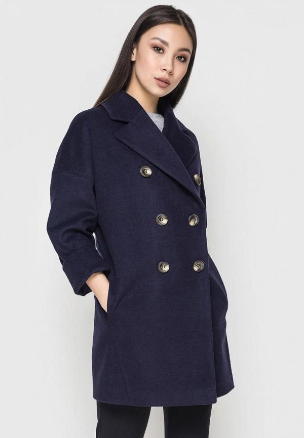 женское пальто samange, синее