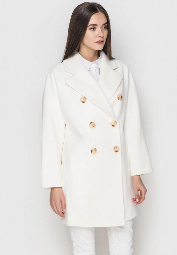 женское пальто samange, белое