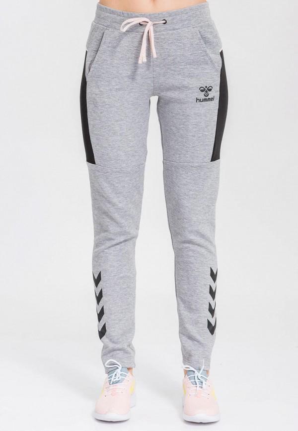 женские спортивные брюки hummel, серые