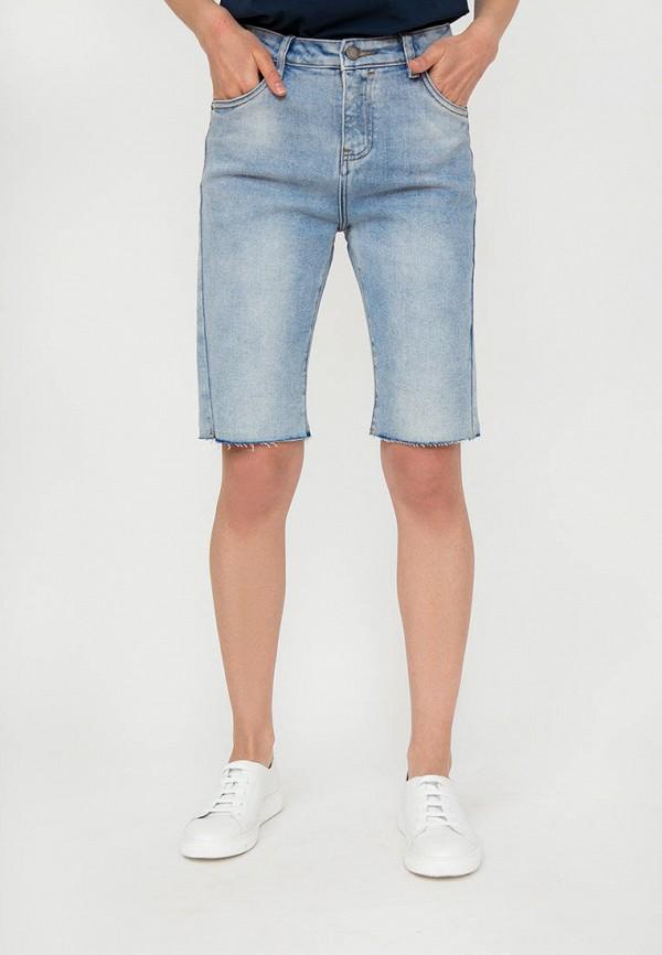 Шорты джинсовые Finn Flare голубого цвета