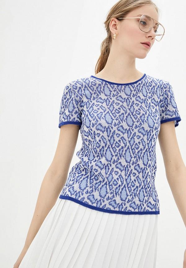 женский джемпер 02.02.knitwear, голубой