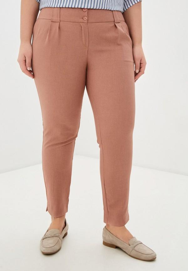 женские зауженные брюки viserdi, розовые