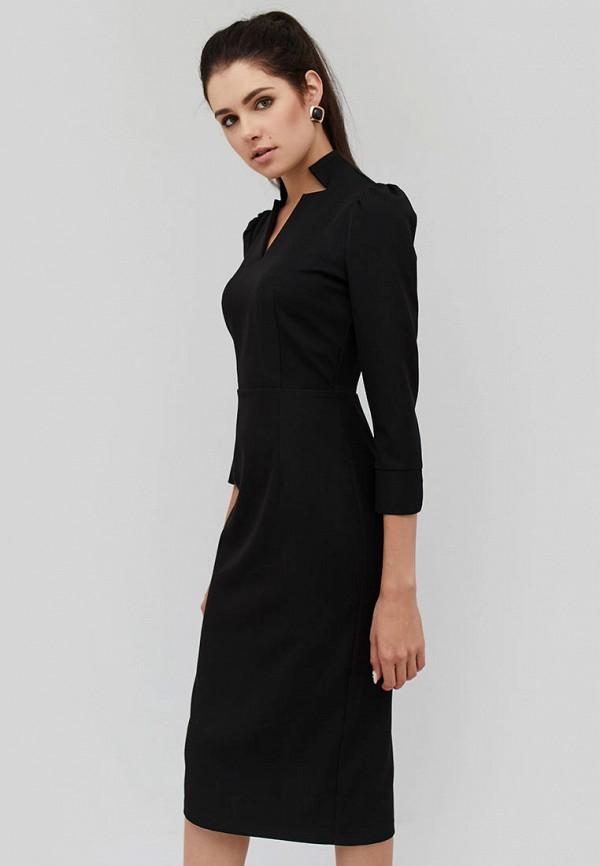 женское платье-футляр cardo, черное