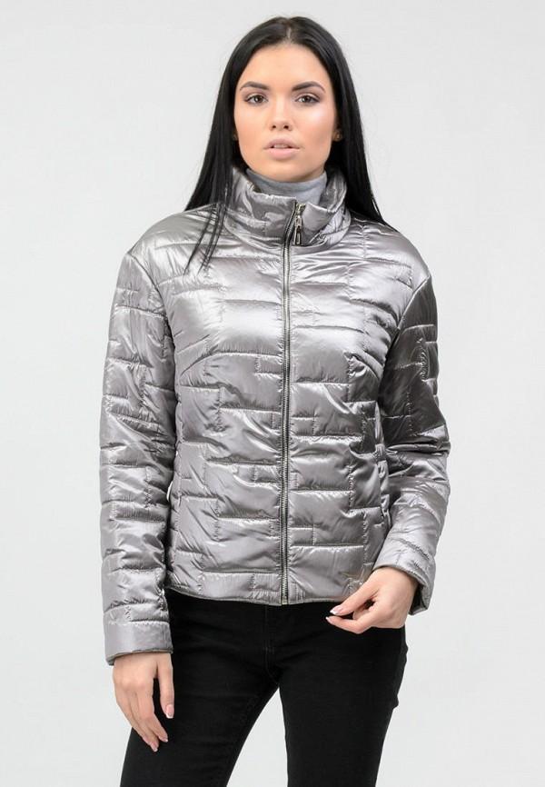 женская куртка raslov, серебряная