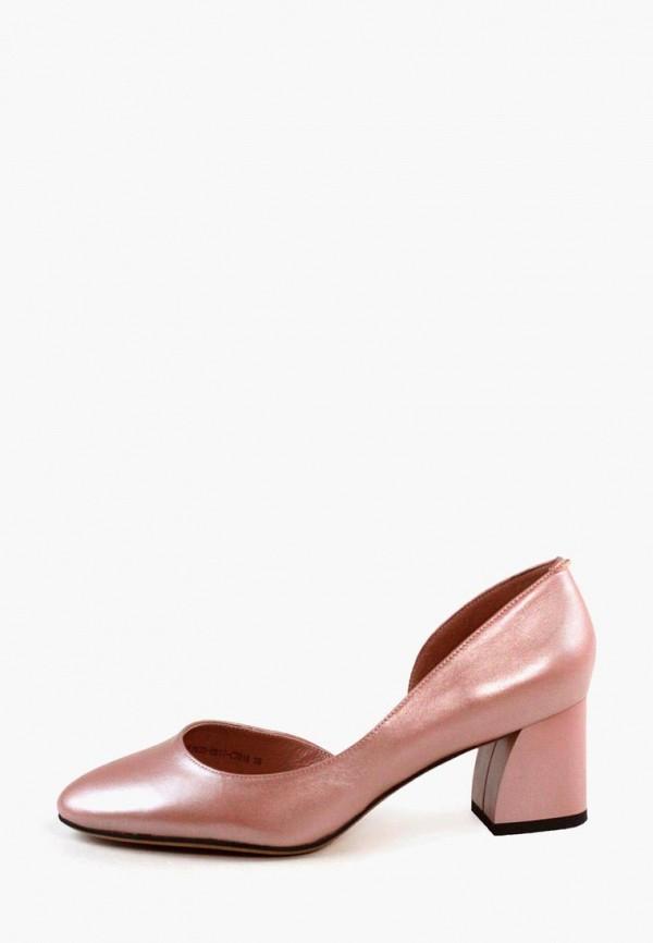 женские туфли it-girl, розовые