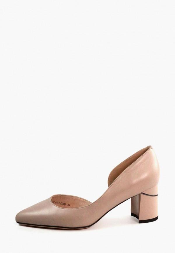 женские туфли it-girl, бежевые