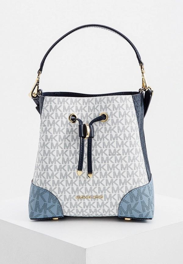 женская сумка-ведро michael kors, разноцветная