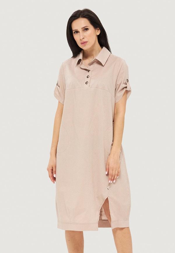 женское платье danna, бежевое