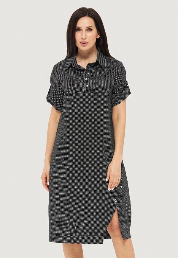 женское платье danna, черное