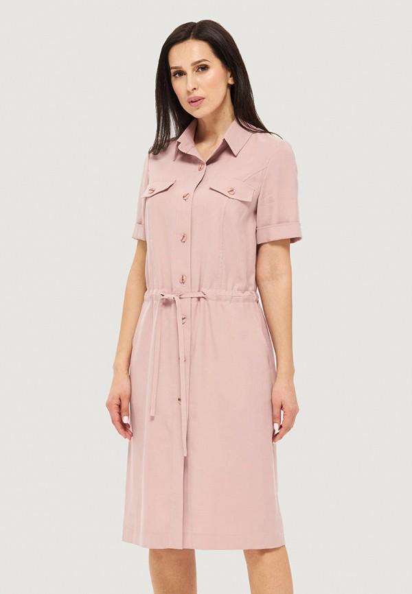 женское платье danna, розовое