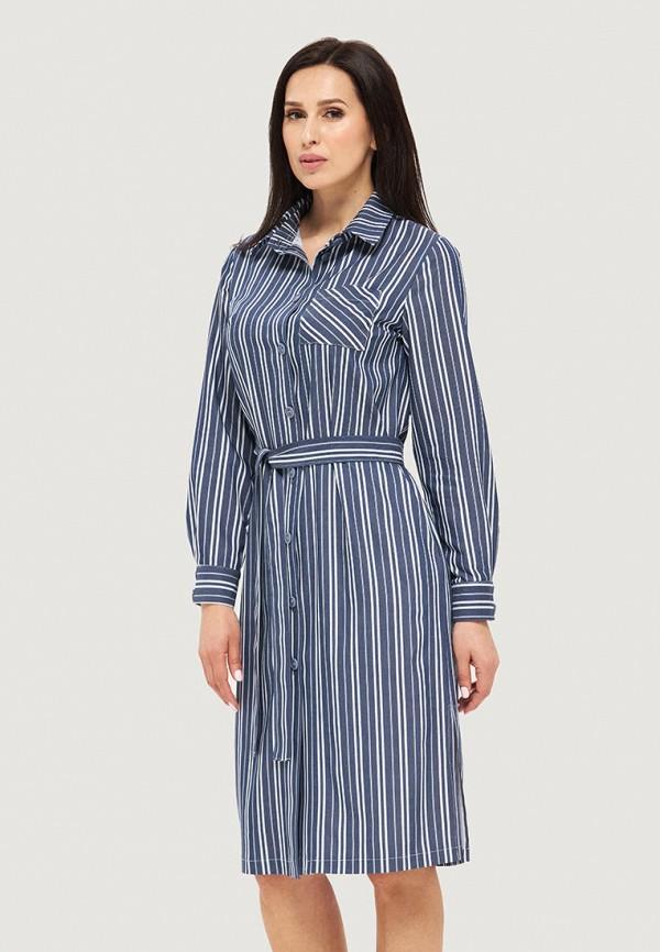 женское платье danna, синее