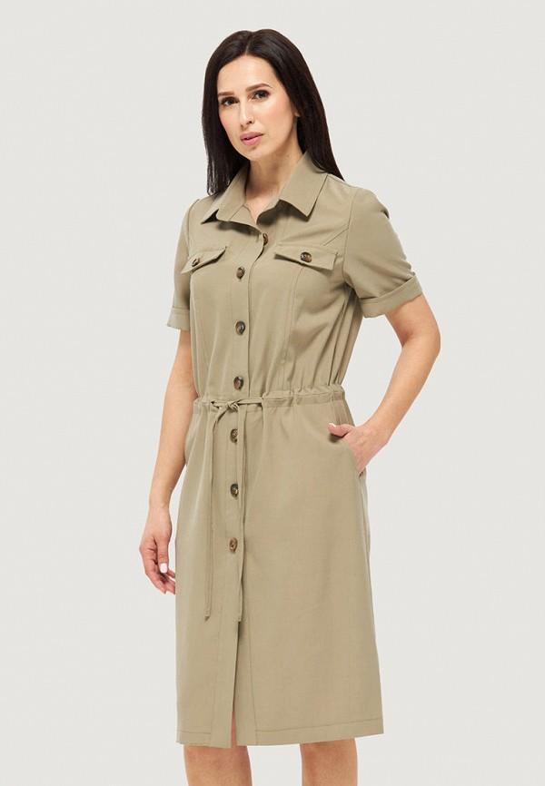женское платье danna, хаки