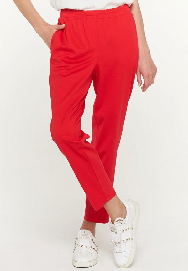 женские брюки джоггеры vay, красные