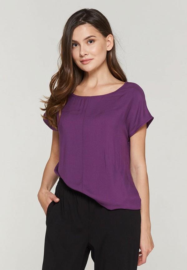 женская футболка vay, фиолетовая