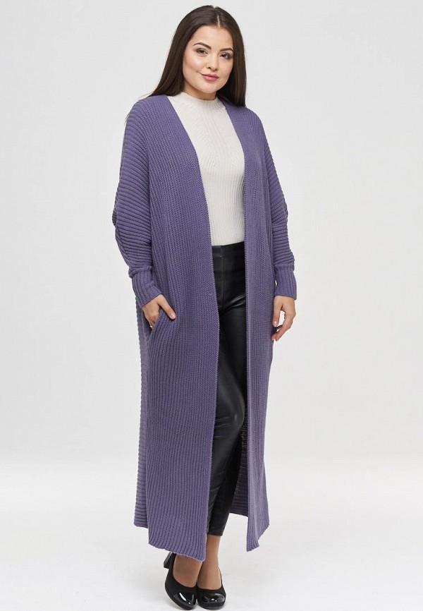 женский кардиган vay, фиолетовый
