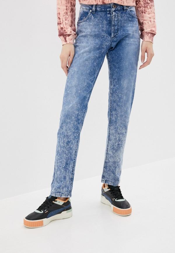 женские джинсы бойфренд gjo.e, голубые