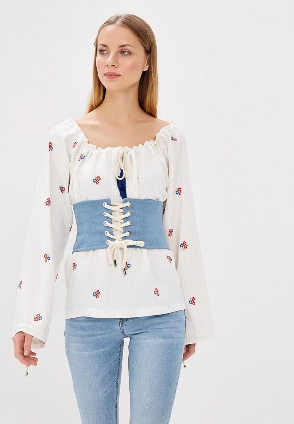 Купить Блуза Fashion.Love.Story, mp002xw0sfxp, белый, Весна-лето 2018