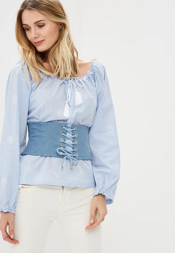 Купить Блуза Fashion.Love.Story, mp002xw0sfxq, голубой, Весна-лето 2018
