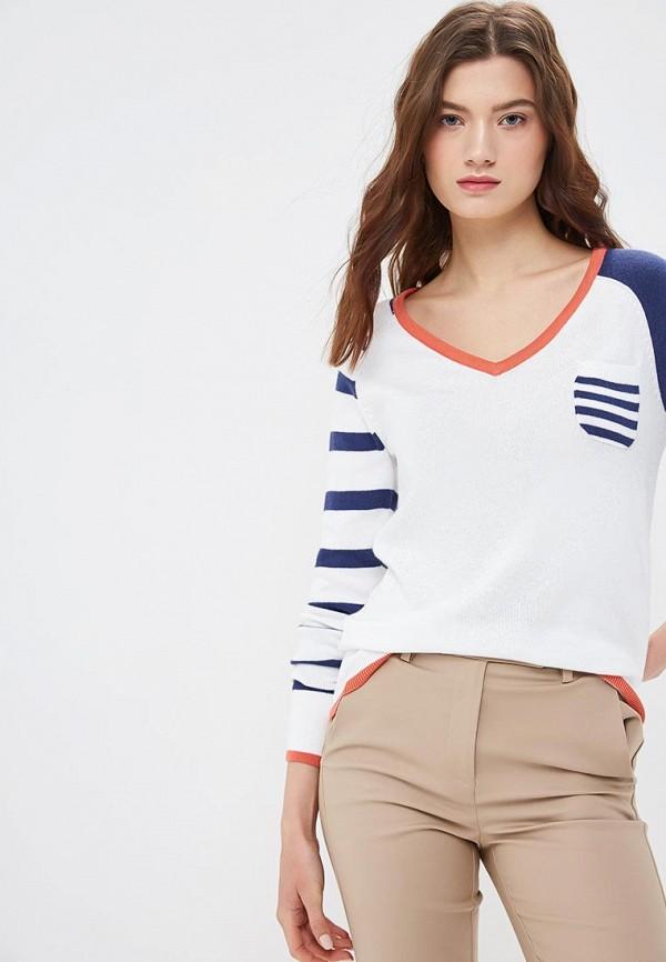 женский пуловер krapiva, белый