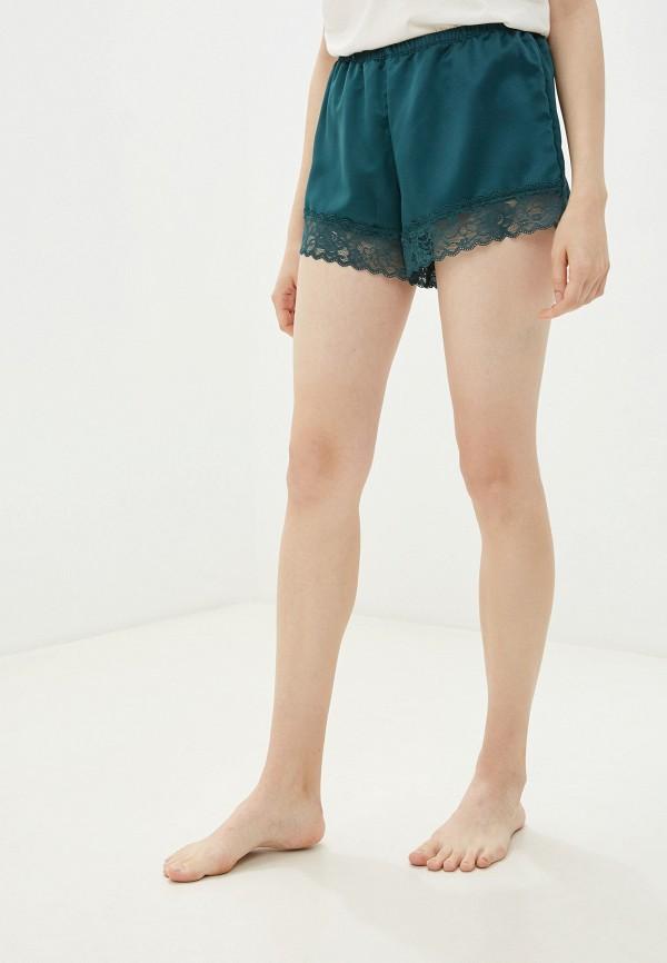 женские шорты tezenis, зеленые