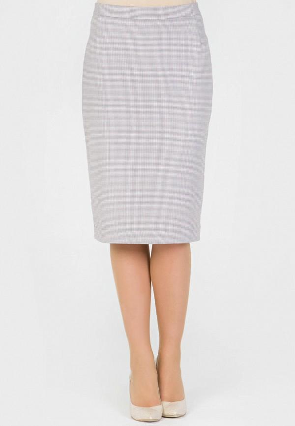 женская прямые юбка filigrana, серая
