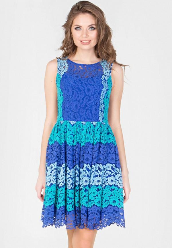 женское вечерние платье filigrana, синее