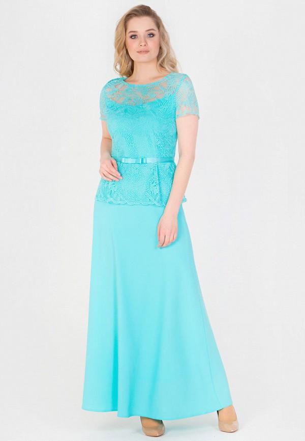 женское вечерние платье filigrana, бирюзовое