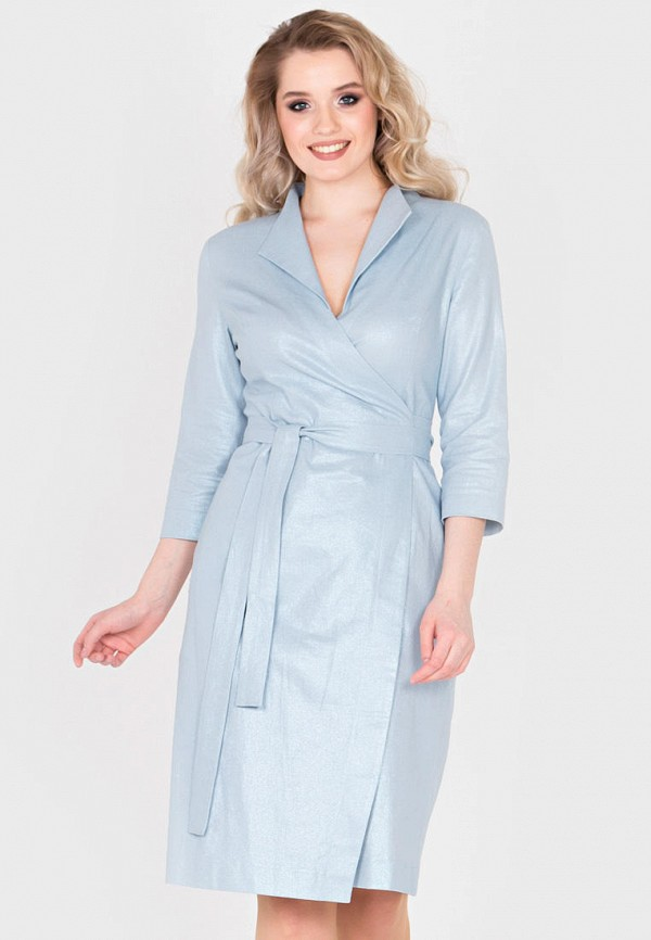 женское платье filigrana, голубое
