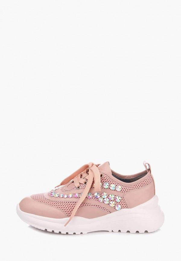 женские кроссовки ditto, розовые