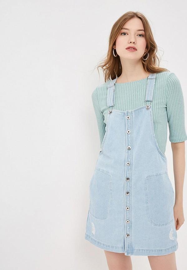 Платье джинсовое Befree Befree MP002XW0SJJ8