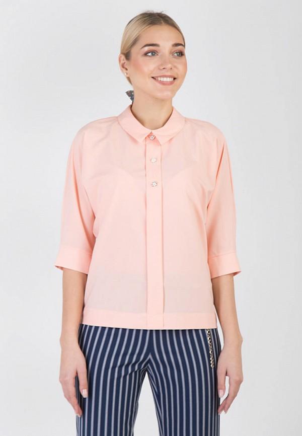женская блузка das, розовая
