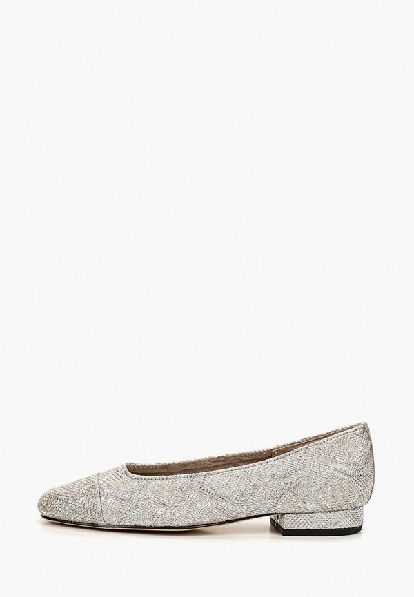 женские туфли vaneli, серебряные