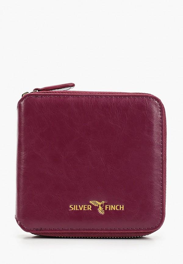 женский кошелёк silver finch, фиолетовый