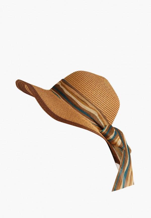 женская шляпа finn flare, бежевая