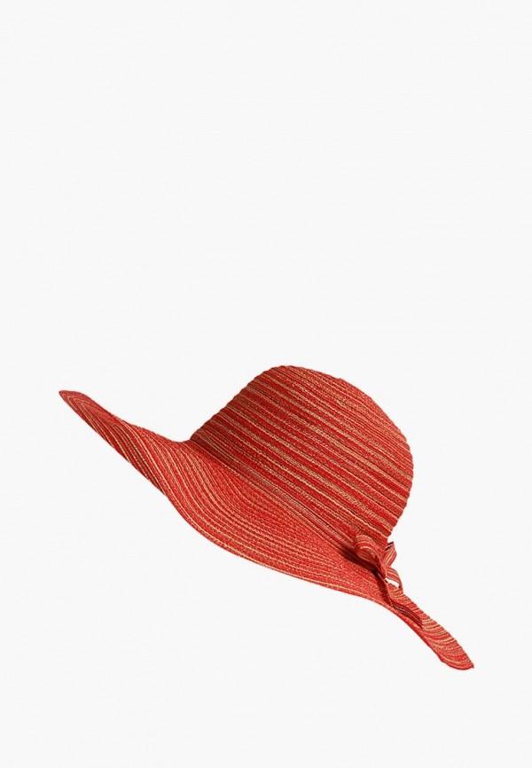 женская шляпа finn flare, красная