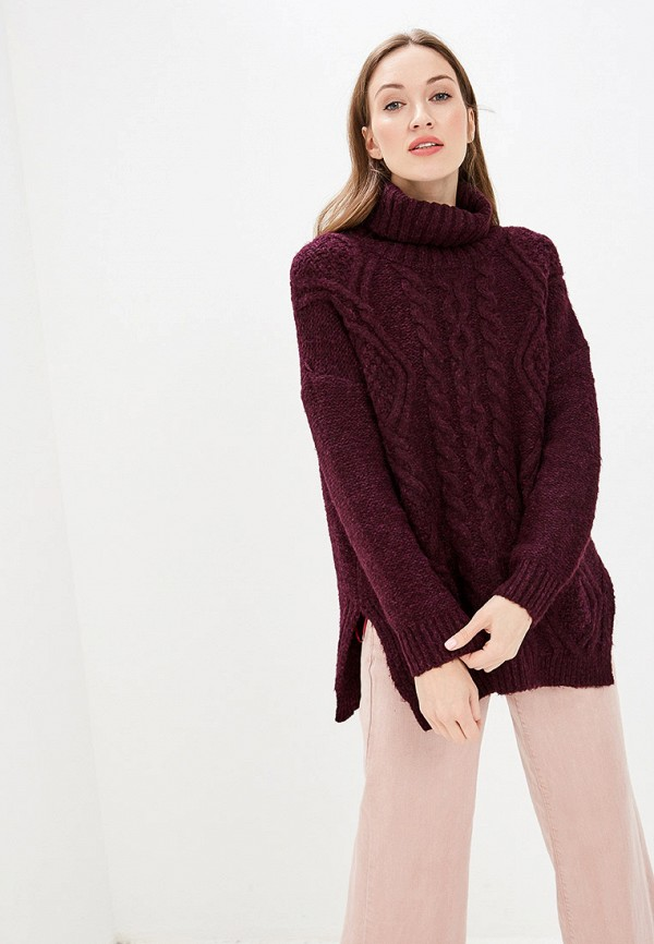 женский свитер befree, бордовый