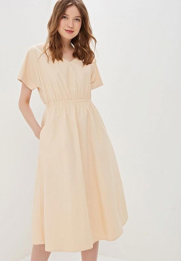 7c71ead79d7 Бежевые женские платья и сарафаны Befree - купить от 1019 руб в ...