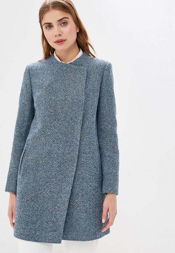 женское пальто avalon, голубое