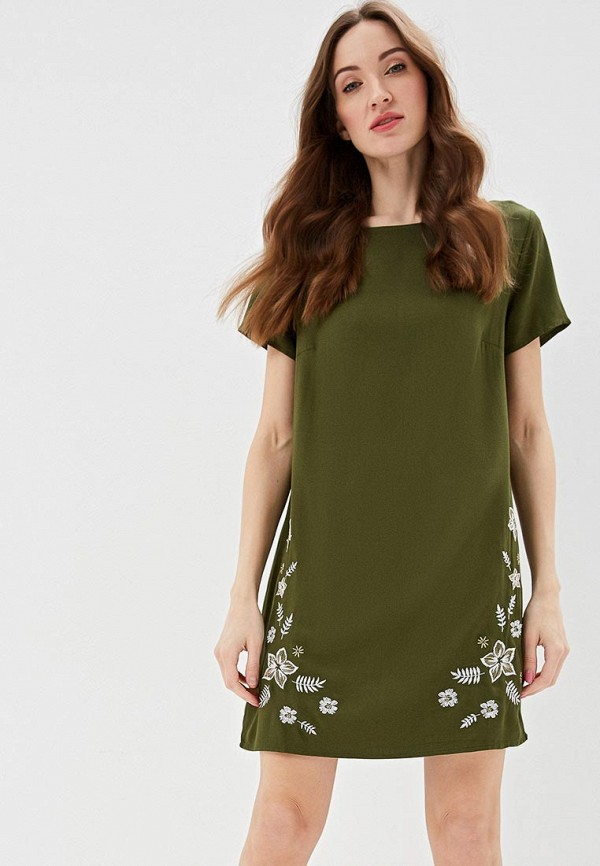 женское платье top secret, хаки