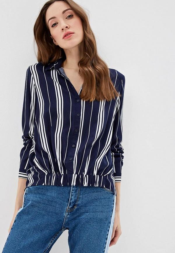 женская блузка top secret, синяя