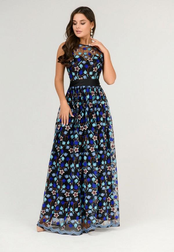 женское вечерние платье d&m by 1001 dress, синее