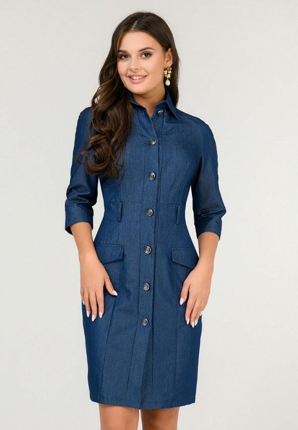 женское платье d&m by 1001 dress, синее