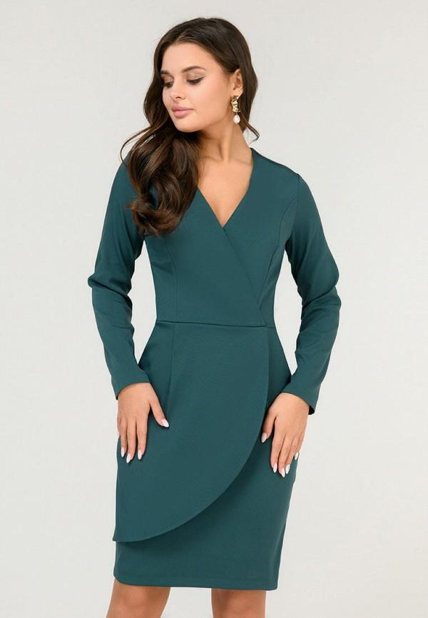 женское платье d&m by 1001 dress, зеленое