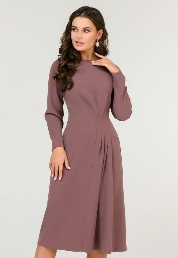 Платье D&M by 1001 dress D&M by 1001 dress MP002XW0SKRM платье 1001 dress цвет светло коричневый темно бежевый dm00204 размер l 46