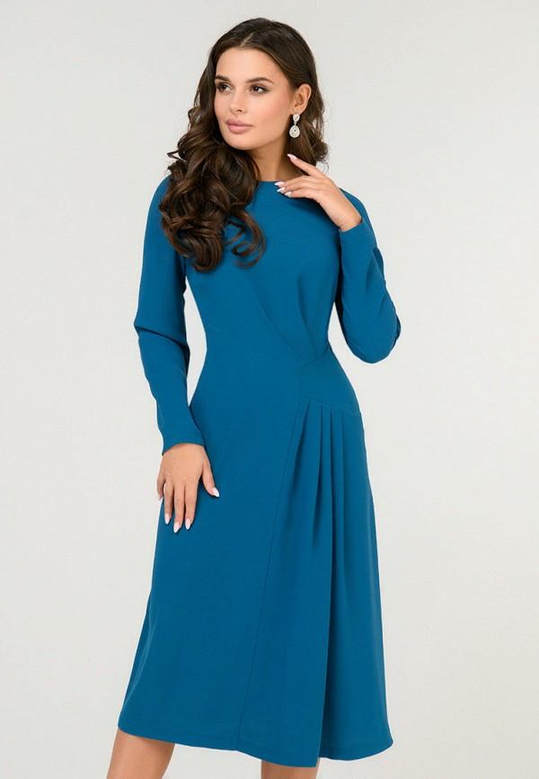 женское повседневные платье d&m by 1001 dress, синее