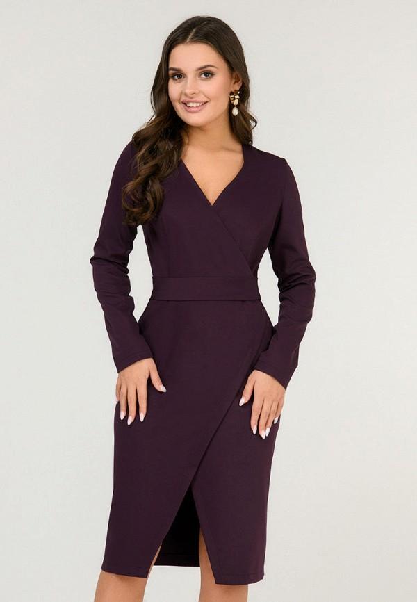 женское платье d&m by 1001 dress, бордовое
