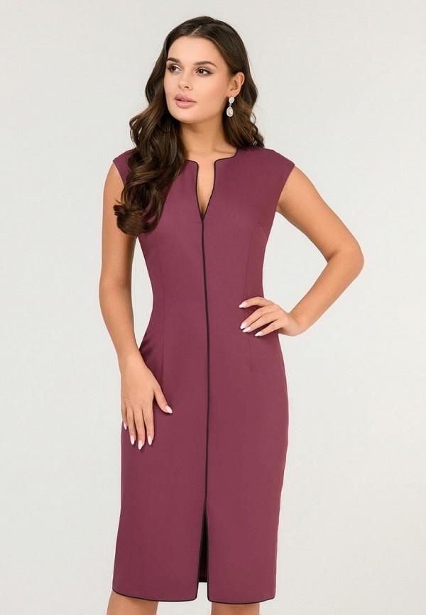 женское повседневные платье d&m by 1001 dress, бордовое