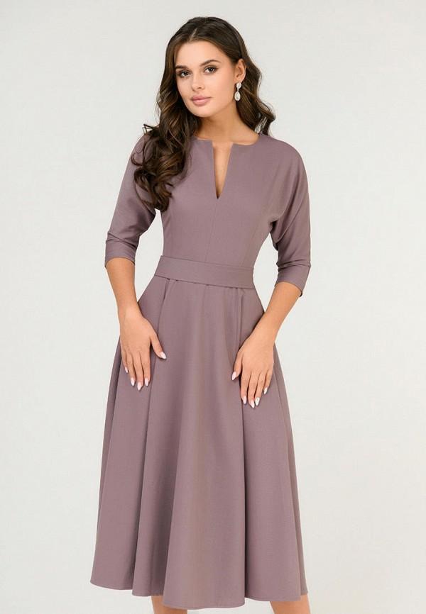 Платье D&M by 1001 dress D&M by 1001 dress MP002XW0SKRY платье 1001 dress цвет светло коричневый темно бежевый dm00204 размер l 46