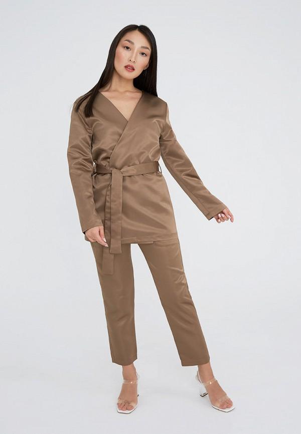 женский костюм ligio, бежевый